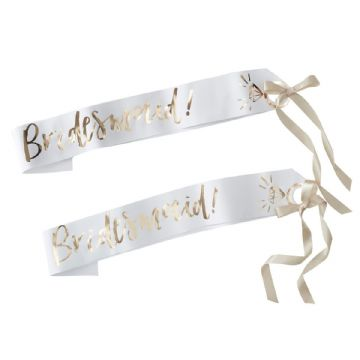 Hen Party Bridesmaid Sashes